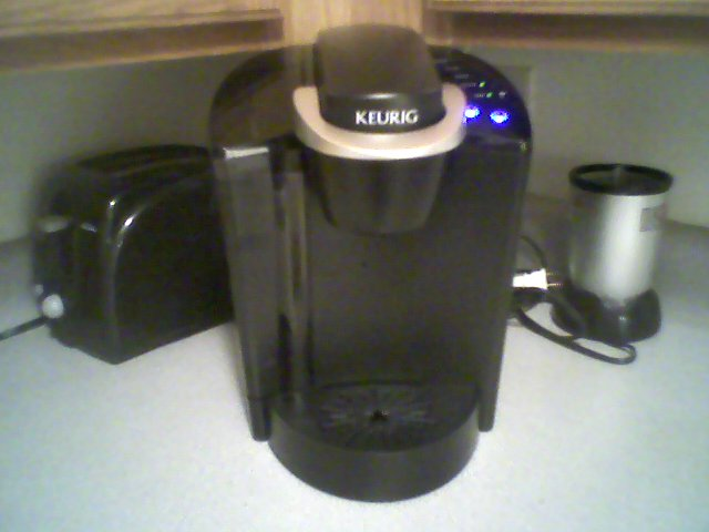 Keurig Coffee Maker How It Works : LincolnBlogs Blog Archive A man and his coffee